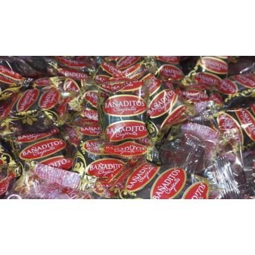 Bañaditos crujientes de chocolate
